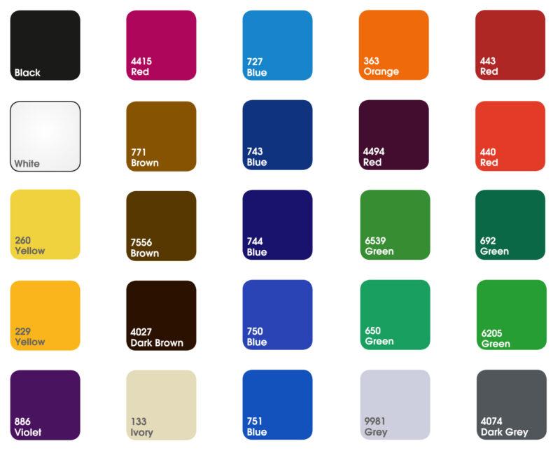 kolory plexi do logo przestrzennego 3d