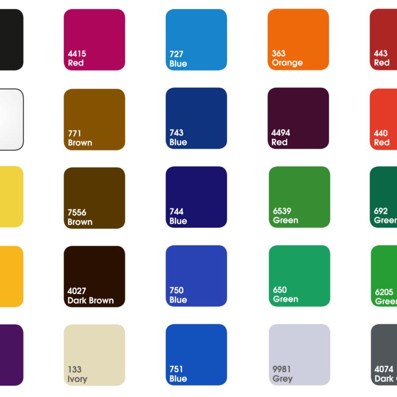 kolory plexi dologo przestrzennego 3d