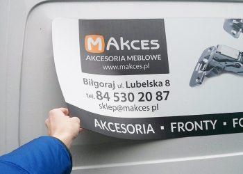 magnes na samochód