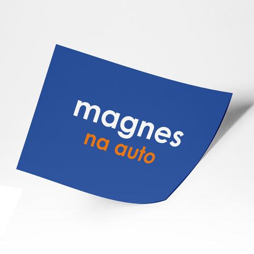 magnesy reklama na samochód