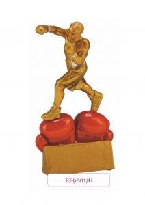 sportowa statuetka dla boksera