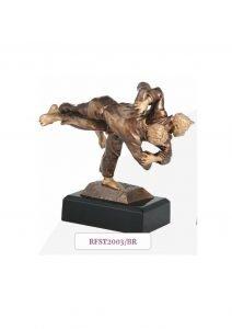 sportowa statuetka judo