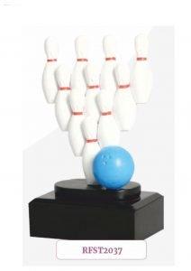 Sportowa statuetka kręgle
