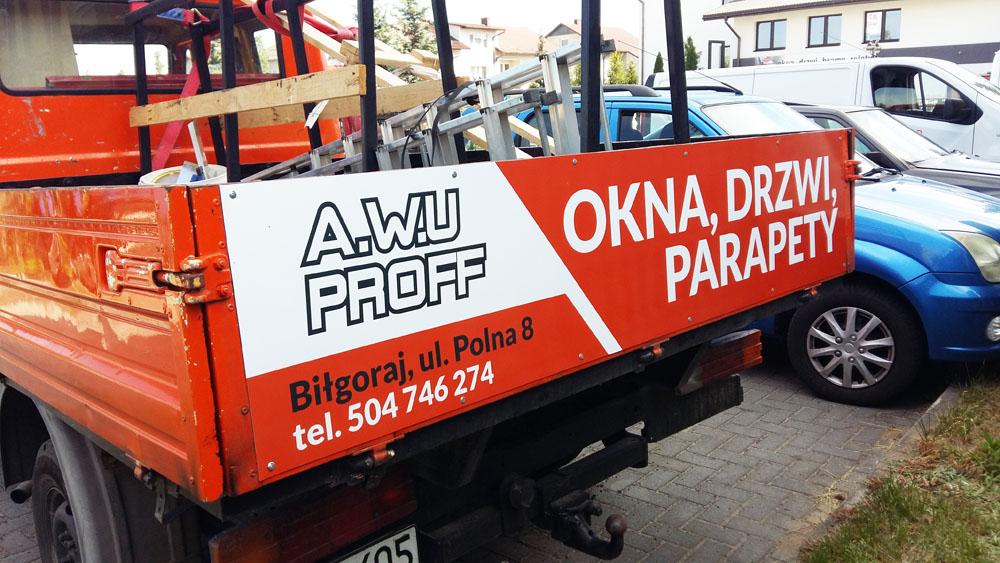 reklama na samochod