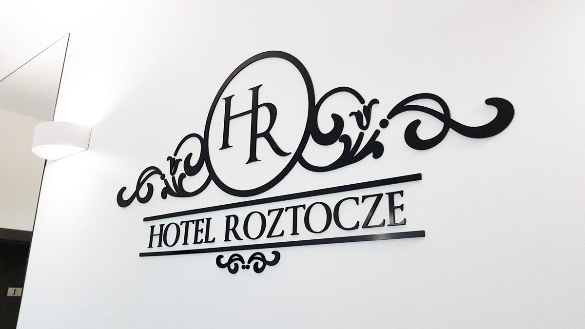 logo 3d dla hotelu