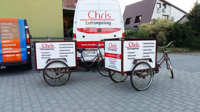 reklama na rower