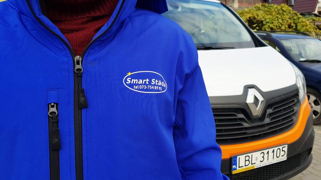 kurtka z logo