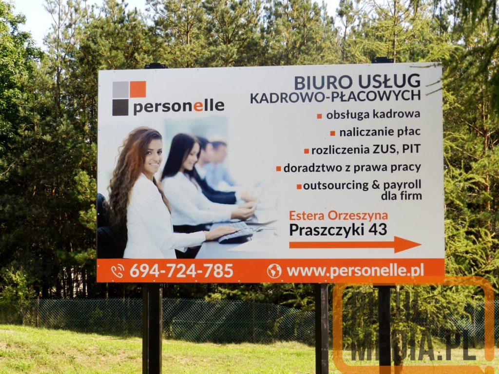 tablica reklamowa - szyld