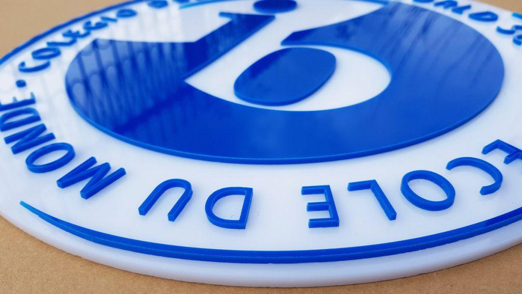 logo przestrzenne szkoły