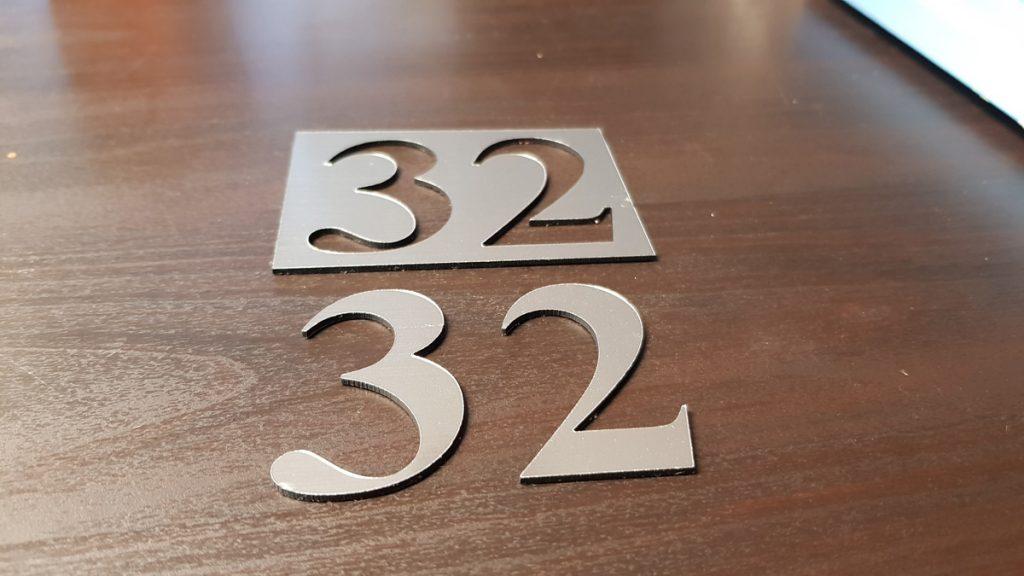 numerek na drzwi