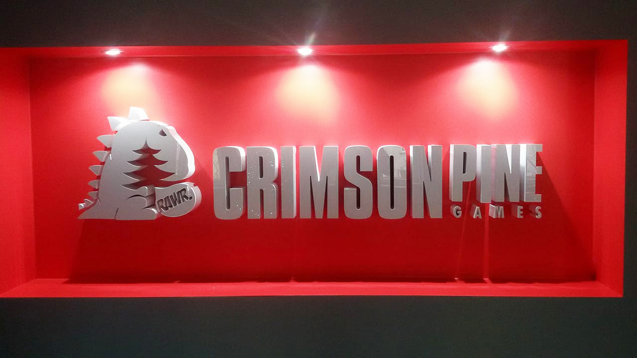 logo 3d crimson pine games