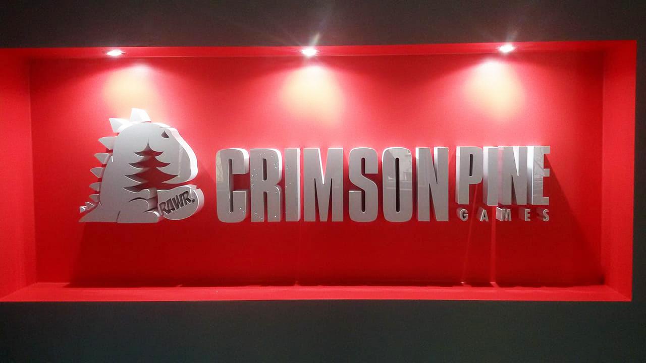 logo 3d crimson pine games