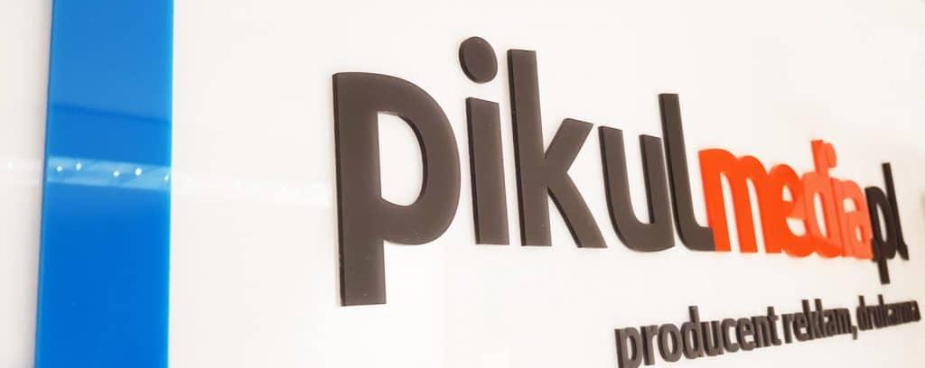 logotyp z plexi