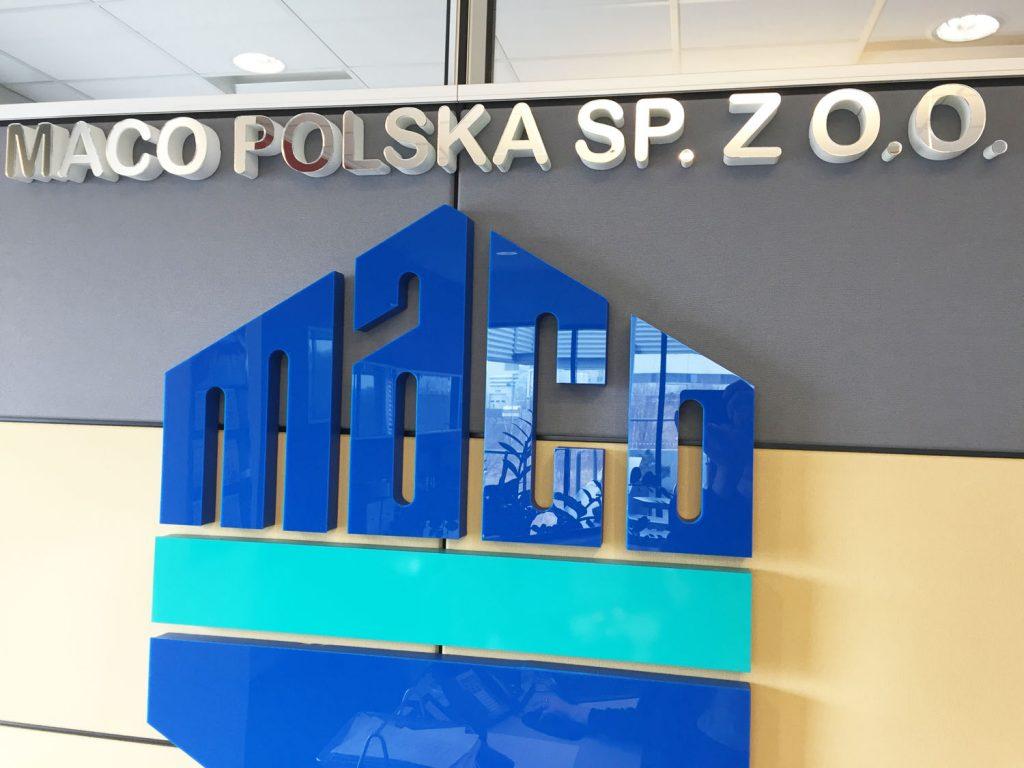 logo przestrzenne do biura