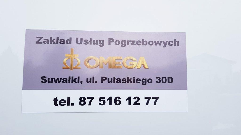 reklama dla firmy pogrzebowej