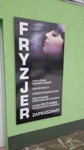 reklama fryzjer