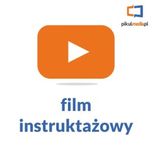 film jak zamontować logo