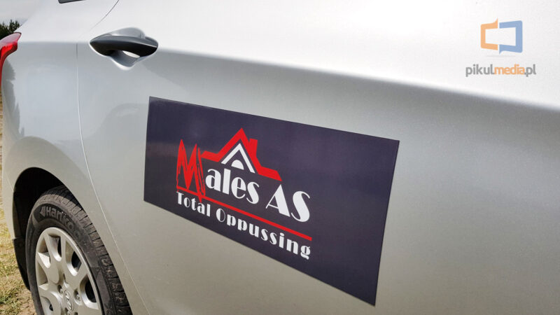 reklama na samochód