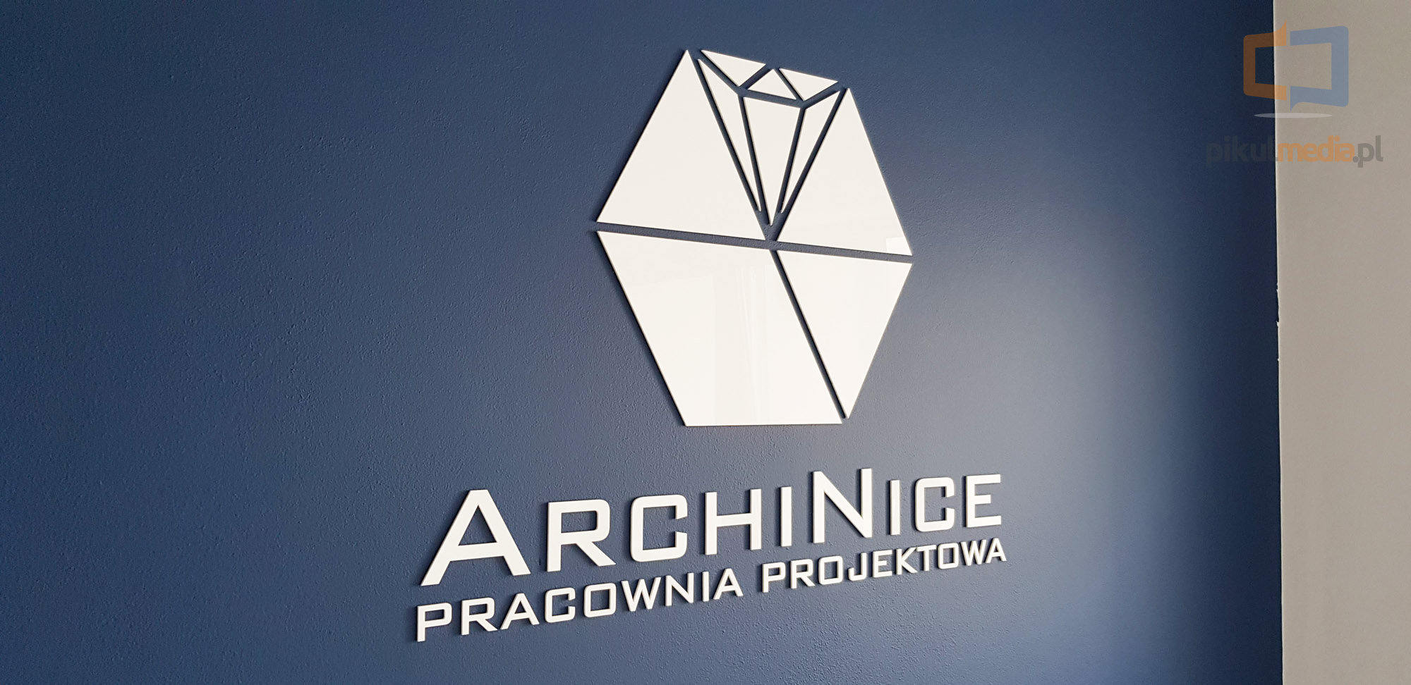 logo 3d z plexi
