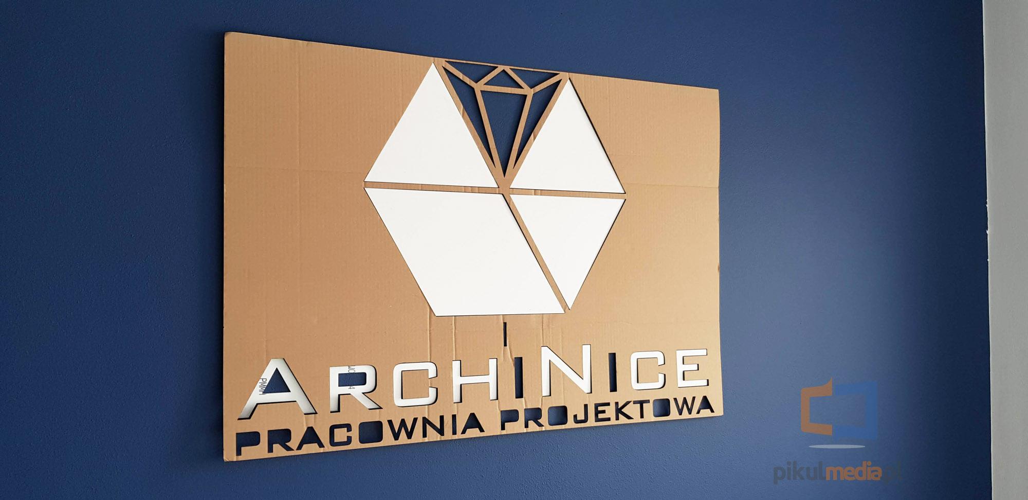 montaż logo 3d
