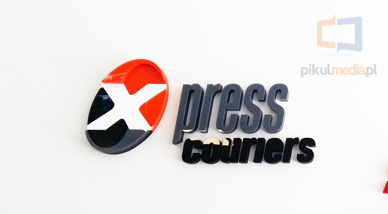 logo 3d x press couriers
