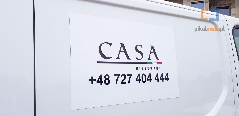 reklama włoskiej restauracji