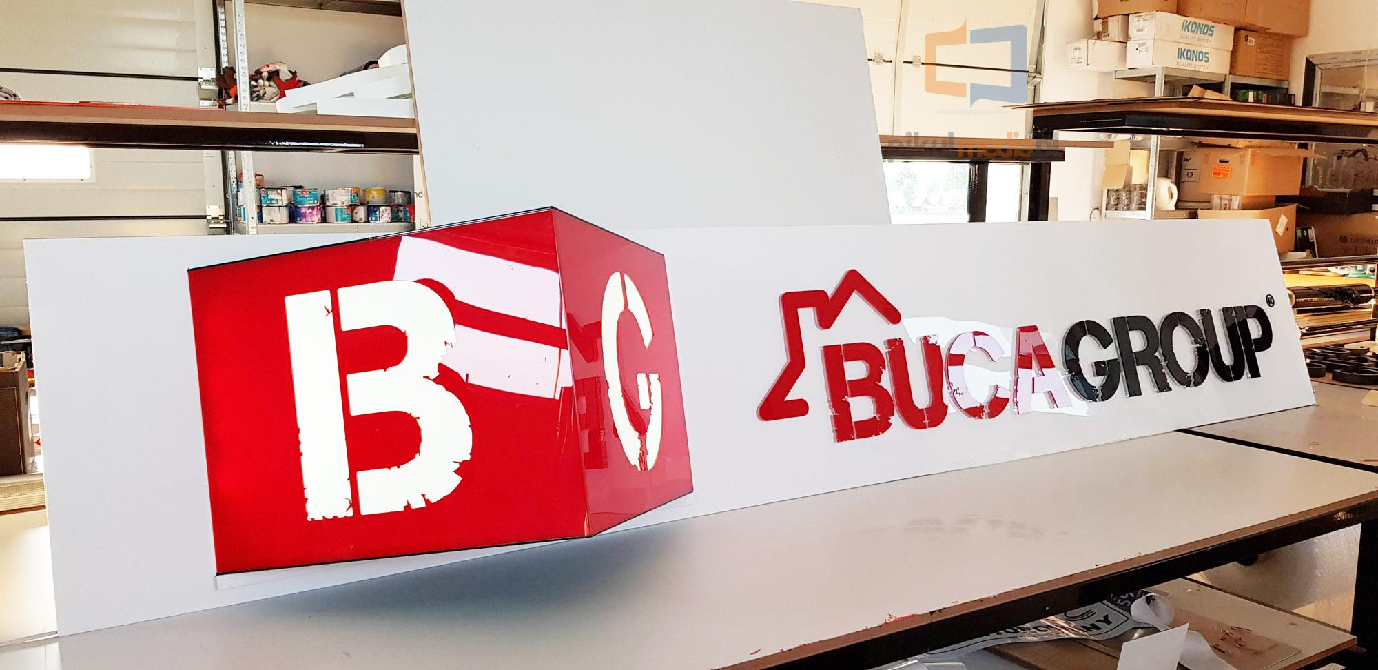 factory 3d letters