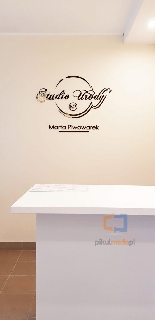 logo 3d do studio urody