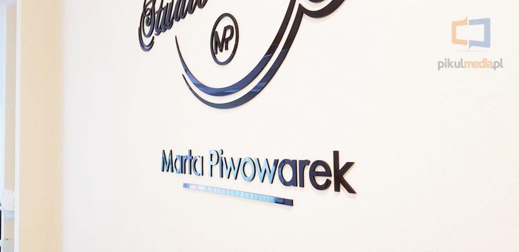 logo z plexi