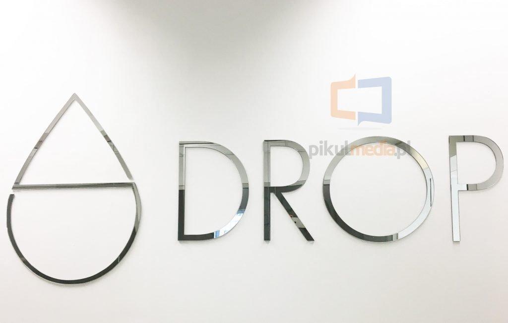logo 3d naścianę
