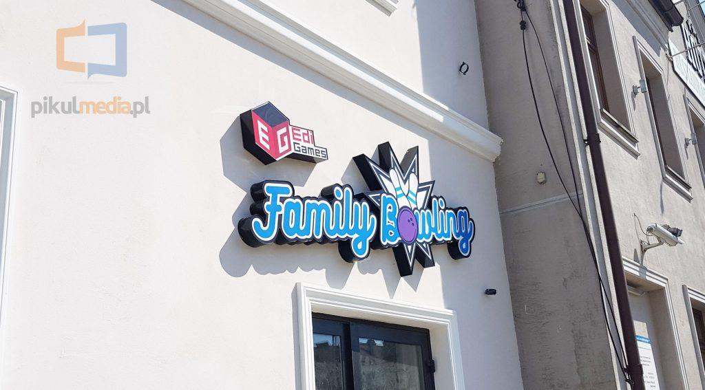 podświetlane logo 3d
