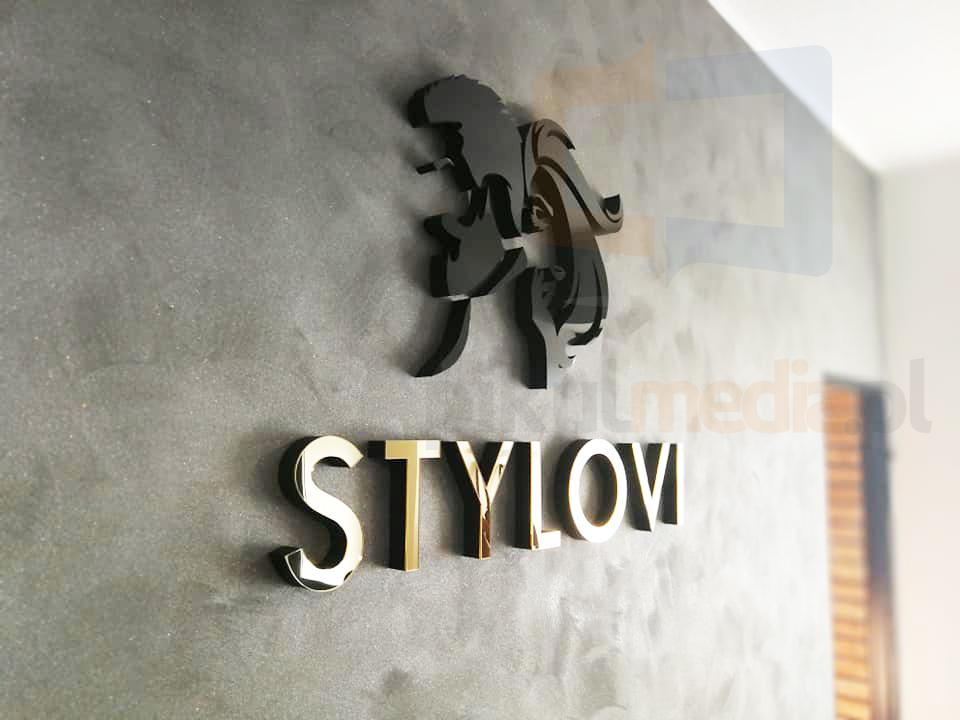 logo na ścianę do salonu fryzjerskiego