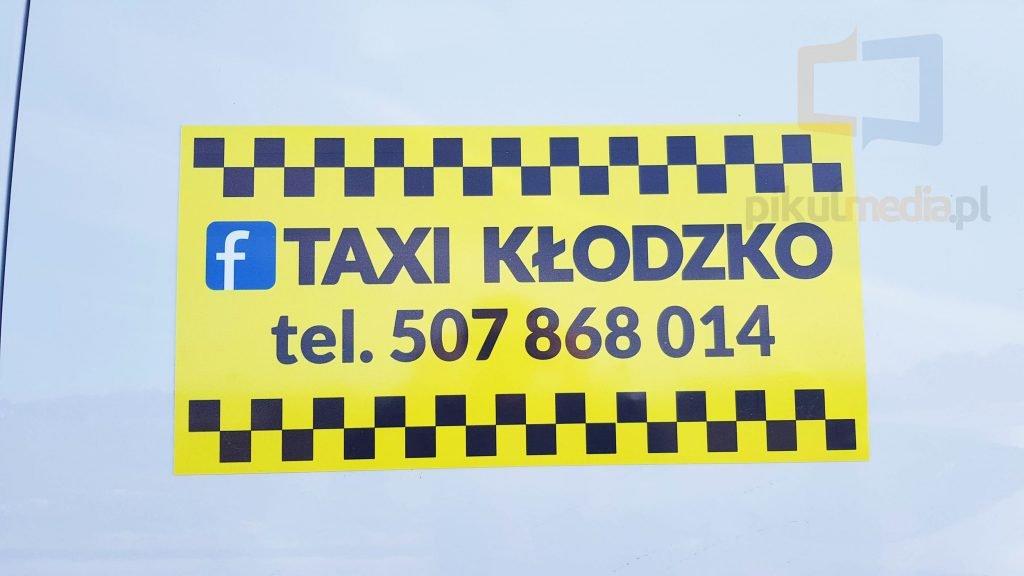 magnesy na taksówkę