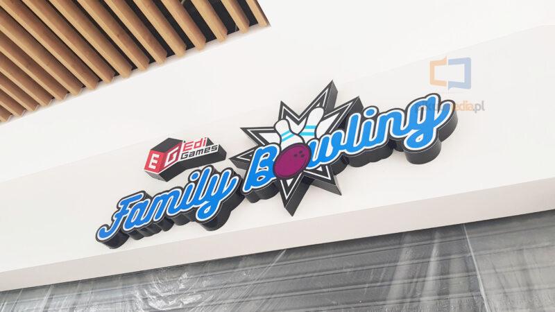 świecące logo 3d na ścianę