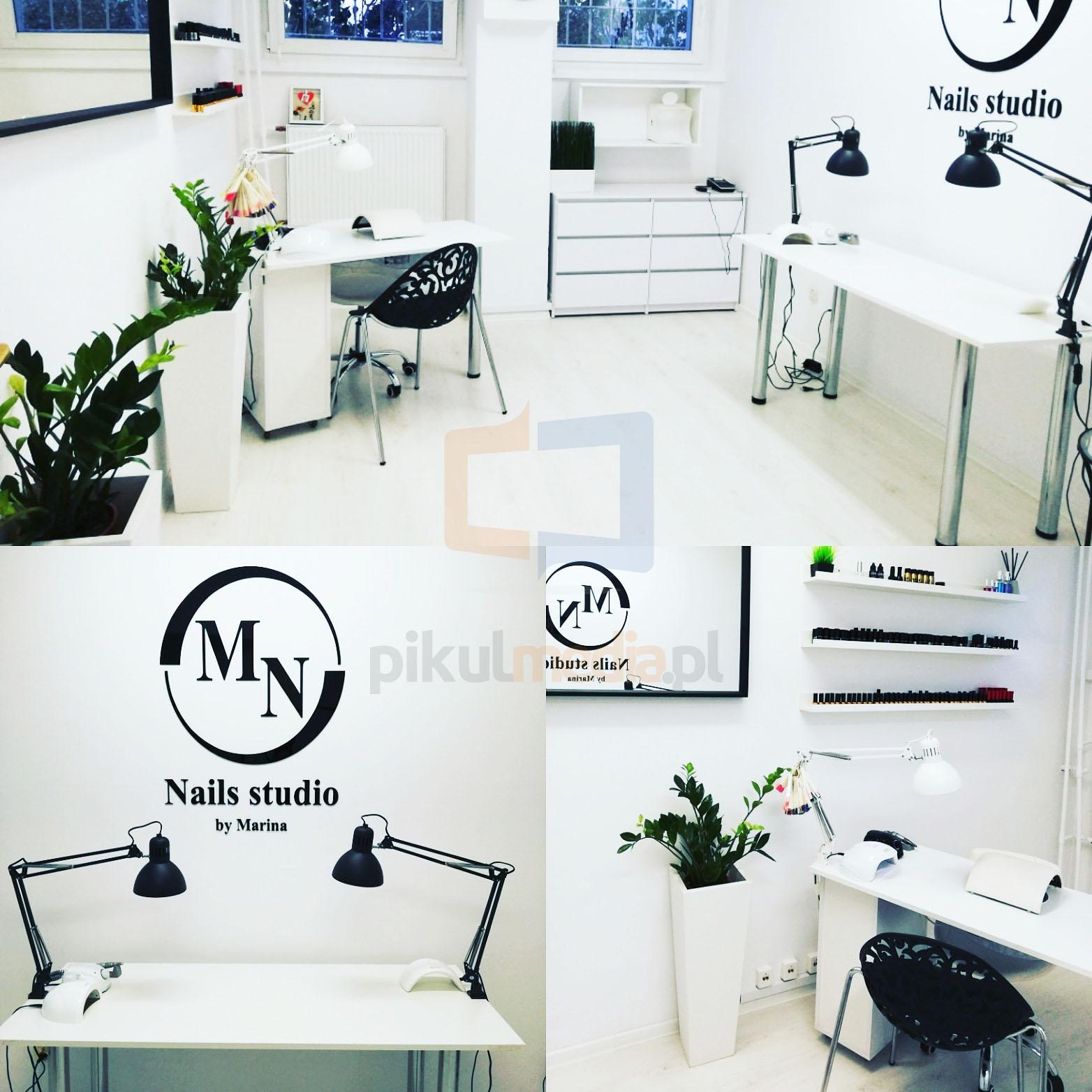 logo 3d nails studio