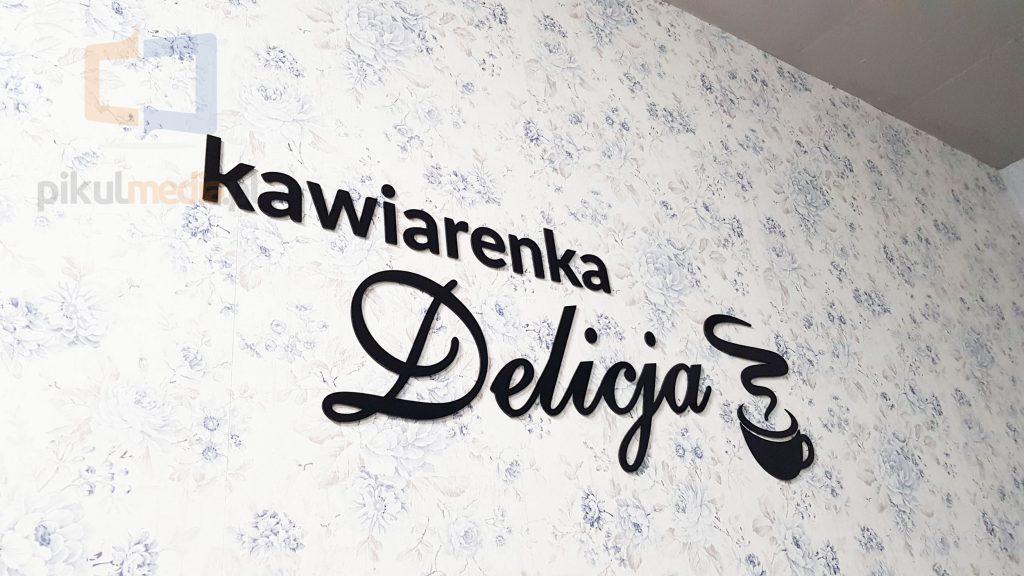 logo 3d do kawiarni