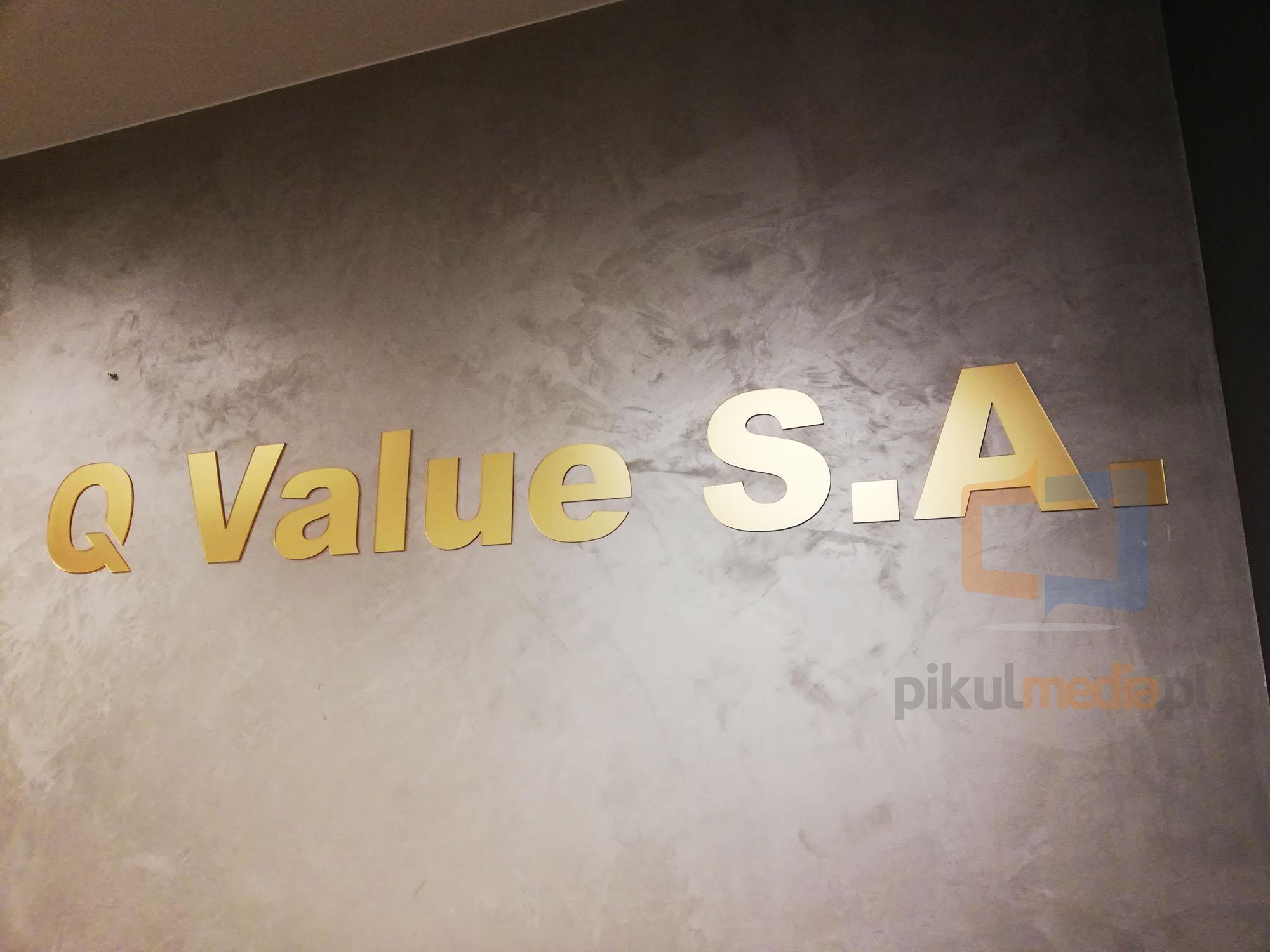 logo na ścianę do biura