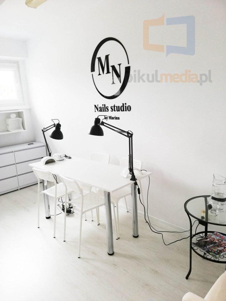 logo na ścianę 3d studio kosmetyczne