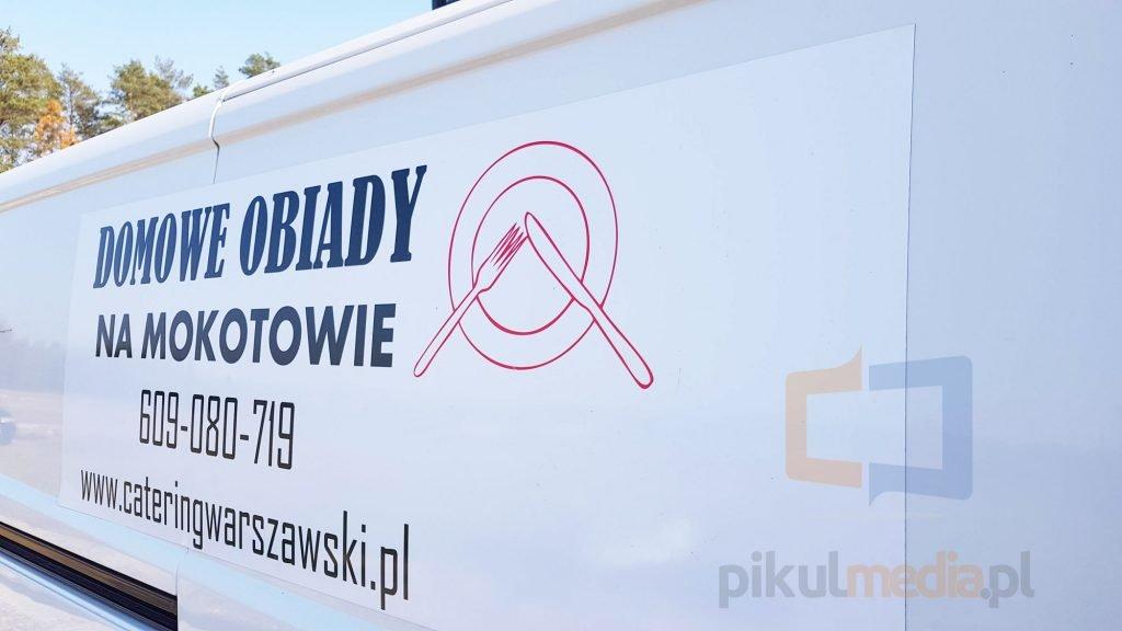 obiady domowe Warszawa reklama