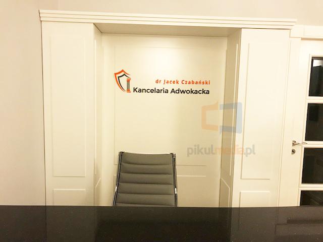 Logo 3d dla kancelarii adwokackiej