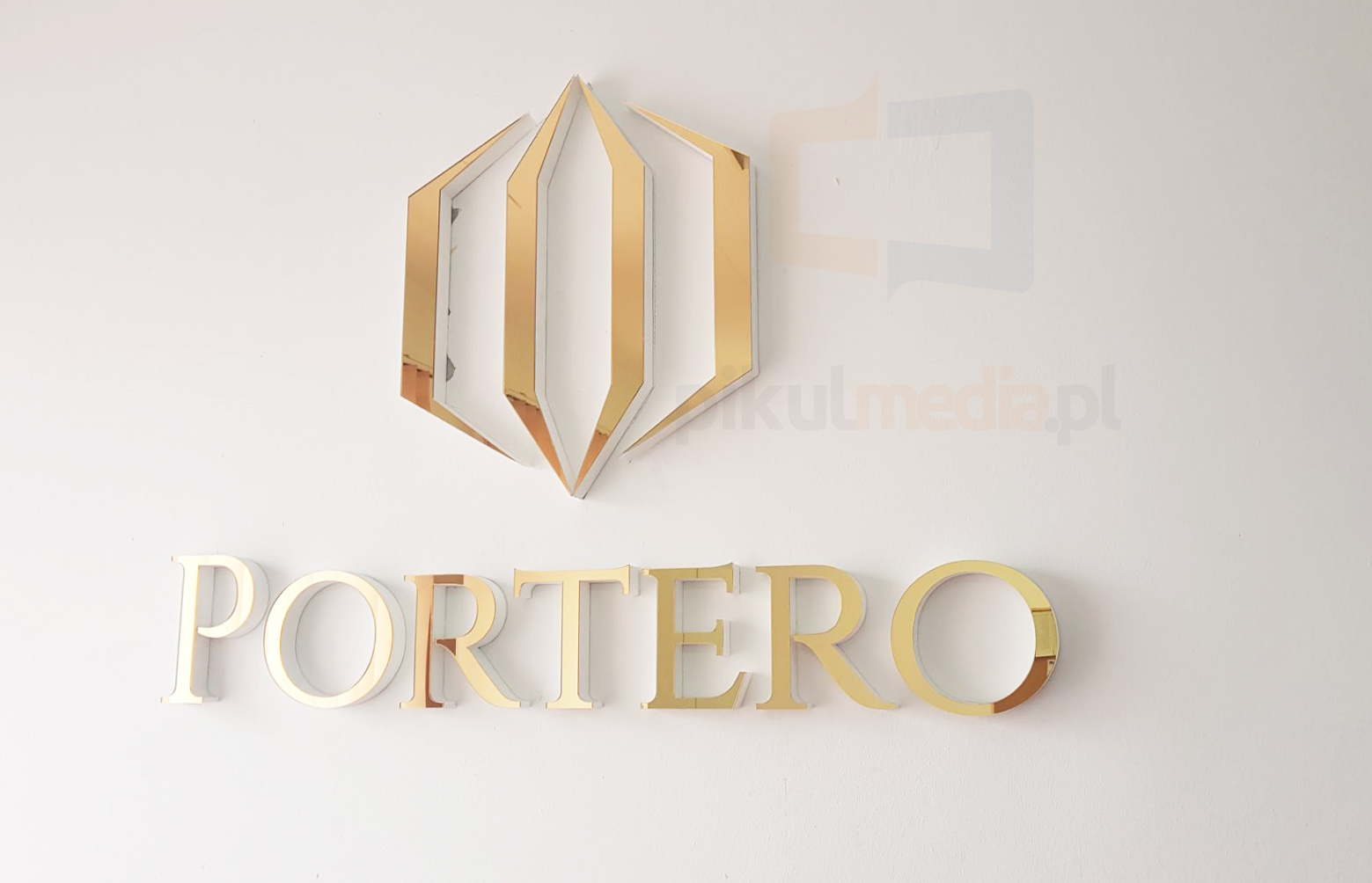 złote logo