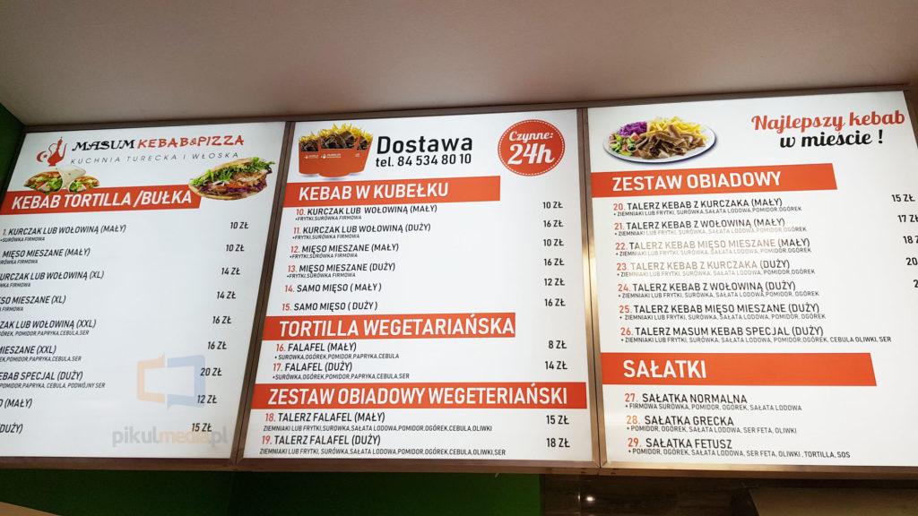 kebab reklama z wysyłką