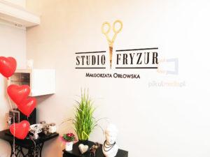 logo 3d studio fryzur
