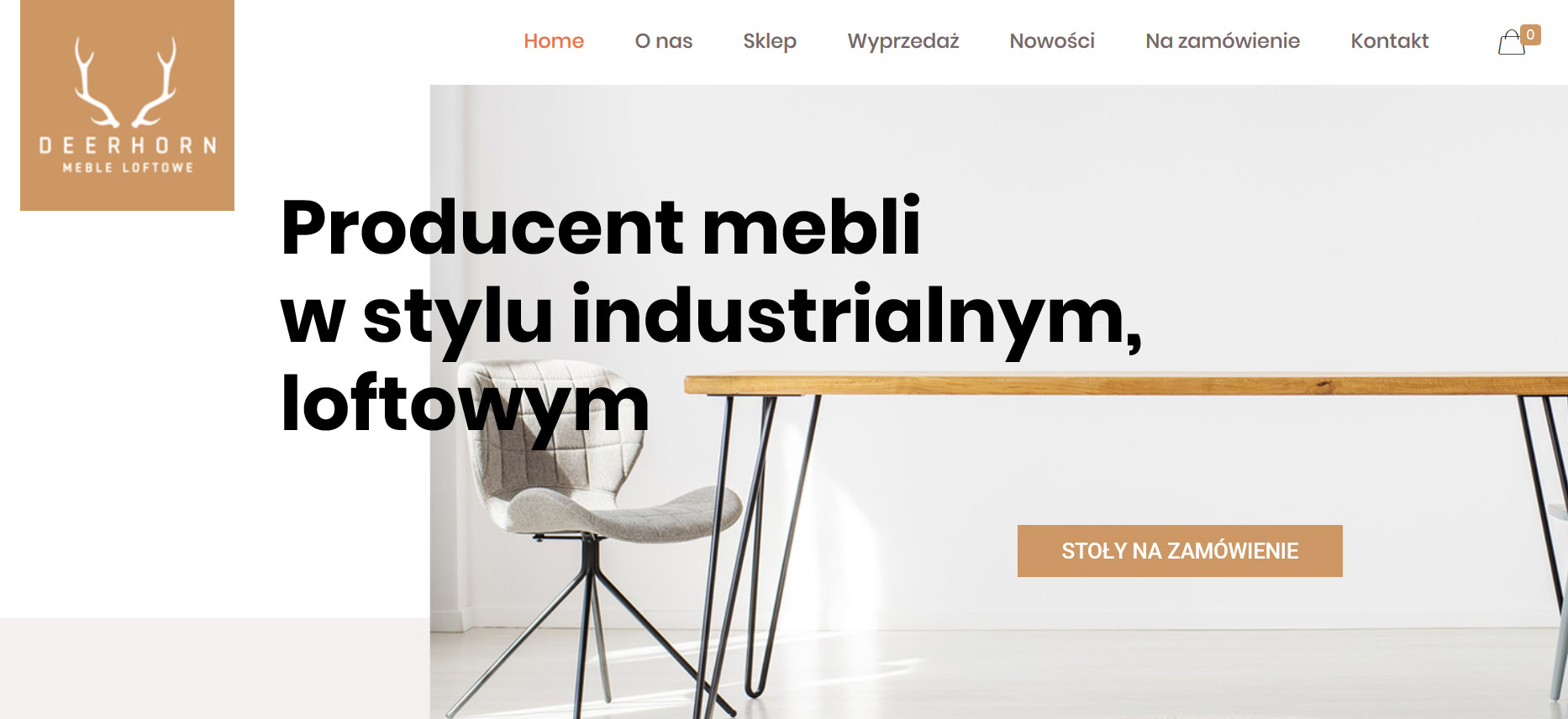 styl industrialny