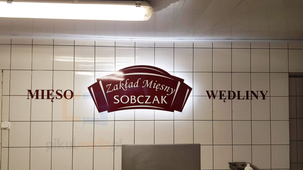 podświetlane logo