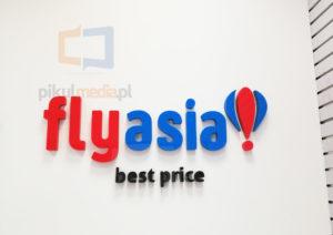Fly Asia logo na ścianę Warszawa