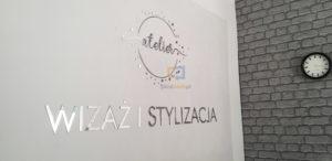 Nowoczesne przestrzenne logo
