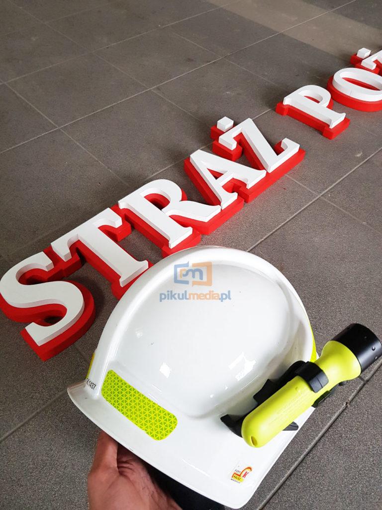 Napisy dla Straży Pożarnej