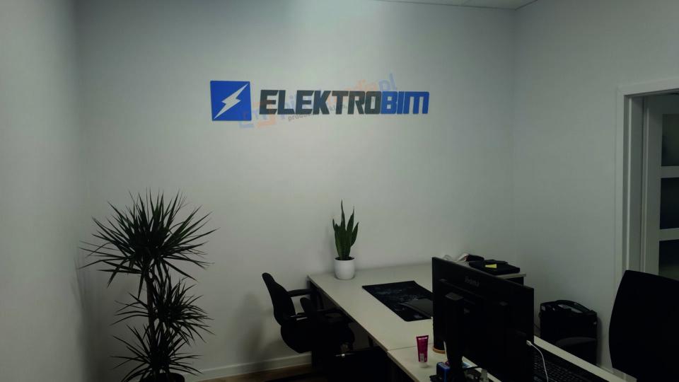Logotyp 3D dla firmy ELEKTROBIM
