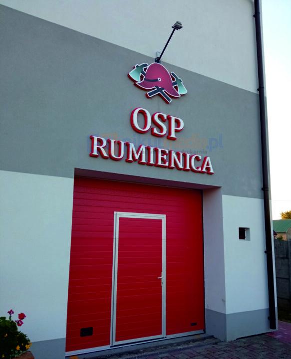 Logo 3d dla OSP Rumienica